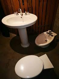villeroy boch hänge wc bidet waschtischsäule in alt englisch styl