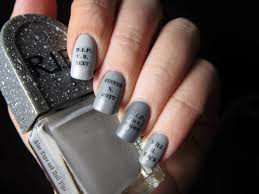 Funny Halloween Tombstones Epitaphs by Blue Tape And Nail Tips Easy Tombstone Halloween Nail Art