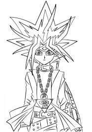 Click To See Printable Version Of Yugi Muto From Yu Gi Oh Coloring