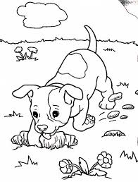 Epic Baby Dog Coloring Pages 62 With Additional For Kids