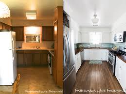 Pinterest Kitchen Soffit Ideas by Fisherman U0027s Wife Furniture Diy Kitchen Reveal Update
