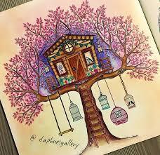 Tree House Secret Garden By Daphnesgallery