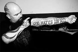 Slayer Tattoos Slayer S Kerry King S Alongside Their Meaning Superbhub