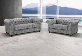 premium collection by home affaire sitzgruppe chesterfield 2 tlg bestehend aus 2 und 3 sitzer