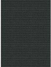 Charcoal black Checkmate 6 FT X 8 Ft Indoor Outdoor Area Rug