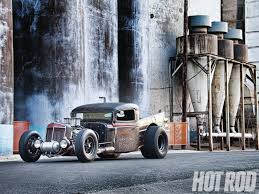 1936 International And 1958 Dodge Fusion - Mashup In Metal - Hot Rod ...