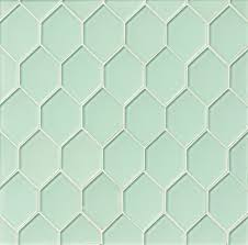 Glazzio Tiles Versailles Series by Sea Mist Diamond Green Glossy Glass Tile Kitchen Backsplash