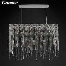 bester rabatt 50 rechteckige kristall kette retro kronleuchter licht led vintage cristal string minimalistischen hängen le deco