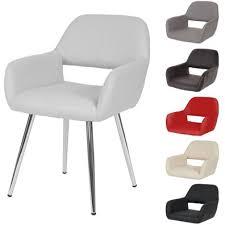 barock esstisch stuhl silber weiß dining chair