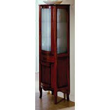 klassischer badezimmerschrank mit glastür h11305