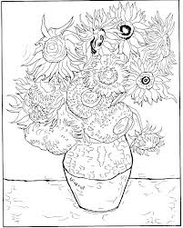 Marvelous Z575973 Sunflower Coloring Pages Printable Page Free Download