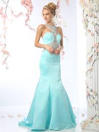 embellished halter prom evening dress with mermaid skirt sung