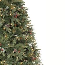 6ft Pre Lit Christmas Tree Tesco by Martha Stewart Prelit Christmas Tree Christmas Lights Decoration