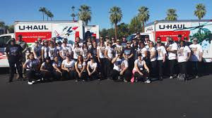 100 U Haul 10 Foot Truck About Delivers AT Phoenix Veterans Day Parade
