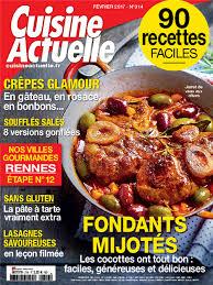 magazine de cuisine vente au numéro numérique cuisine actuelle féminins tous les