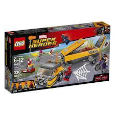 LEGO SUPER HEROES Tanker Truck Takedown 76067 - LEGO - Toys