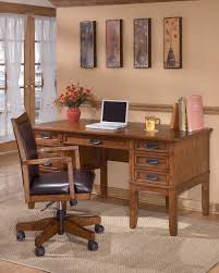 Ortanique Dining Room Table by Cross Island Traditional Med Brown Oak Wood Home Office Desk
