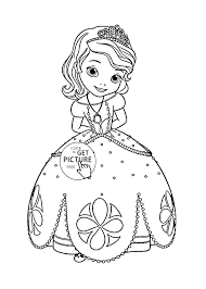 Disney Princesses Coloring Pages Princess Free Page For Kids