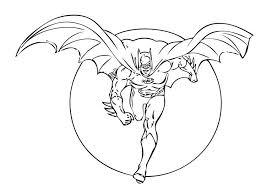 Printable Batman Coloring Pages