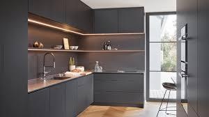 schwarze küchen als eyecatcher bora küchendesign bora