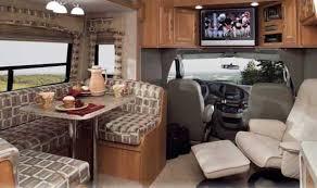 Class C Motorhomes Interiors