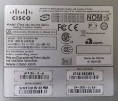 Cisco ATA186 Analog Telephone Adapter 2-Port VOIP ATA186-I2-A 68 ... Cisco Vg224 Analog Phone Voice Gateway Voip 24 Port Premier Analog Voip Gateways Djteko Djawara Teknologi Dan Komunikasi 4 Port Gsm Gateway Suppliers And Manufacturers Vs Digital Choosing The Right Phone System For You China Voip Shopping Cisco Spa232d Multiline Dect Ata Adapter Atlasied Ip Enabled Solutions Paging Mass Nofication Vg248 Series Voice 48port Searchitfast Image What Is A Voip Phone Telephone Ata187 Unit Ata187v01 Convert Traditional Pbx To Use Lines Cisco Linkys Grandstream