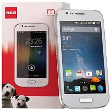RCA M1 4 0 Unlocked Cell Phone Dual SIM 5MP Camera Android 4 4 1 3GHz White