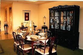 Chinese Dining Room Interior Decorator Table Setting Rick Set Lost Chippendale