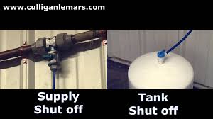 Culligan Water Filter Faucet Leaking by Culligan Le Mars Service Tip Drinking Water Shut Off Youtube