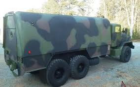 100 5 Ton Military Truck 6x6 Truck Machine Shop Bug Out Camper Conversion Ton For