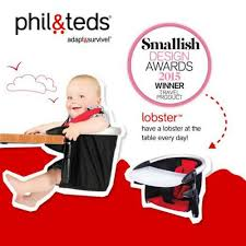 Phil And Teds Lobster High Chair by Buy Phil U0026 Teds Lobster Booster Red Preciouslittleone