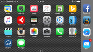 How to turn off or turn on landscape mode on the iPhone 6