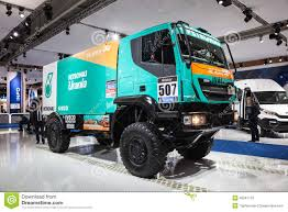 100 Dakar Truck IVECO Race Truck Editorial Stock Image Image Of Lorry 45047719