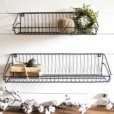 Wonderful Best 25 Wire Wall Shelf Ideas On Pinterest Grid Pipe For Baskets Storage Modern