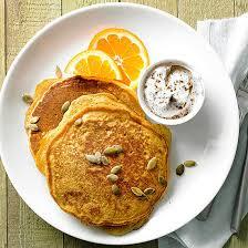 Easy Healthy Pumpkin Pancake Recipe by Pancakes