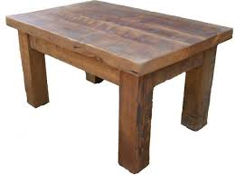 Rustic Style Reclaimed Pine Coffee Table