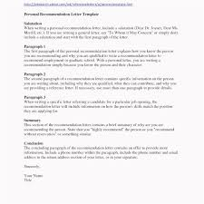 12 How To Write A Recommendation Letter Proposal Letter