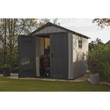 Keter Manor Shed Grey by Keter Duotech Oakland 7 5 X 9 Ft Customizable Outdoor Storage