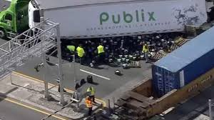 Train Hits Publix Truck In Deerfield Beach, Groceries Spilled And ... Amtrak Train Hits Dump Truck In Edgebrook Abc7chicagocom Train Carrying Us Republican Lawmakers One Death Reported Two Dead 18 Hurt After Stuck On Tracks Italy Stolen Unoccupied Pickup Northeast Bellevue No White House 1 Hit By Congress Members Stow Fox8com Carrying Gop Lawmakers Hits Truck One Dead Ho Stop Motion Film Youtube Stalled Semi Sebree As Csx Works At Multiple Crossings Republicans To Retreat In West Virginia Garbage New Jersey Transit Little Of
