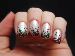 100 Nail Art 2011 My Christmas S Chalkboard S Blog