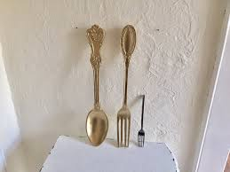 Image Of Pottery Barn Fork And Spoon Wall Decor