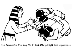 Joseph Forgives His Brothers Coloring Page Pages