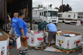 100 Peninsula Truck Lines Community Activities Washington School Supply Drive
