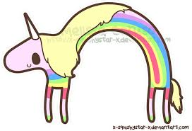 Adventure Time Rainbow GIF
