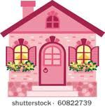 Cute House Free Vector Art