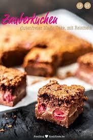 glutenfreier schokoladen magic cake zauberkuchen