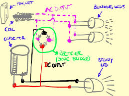 Induction Lamps Vs Led by Contactless Dynamo Powering Bike Safety Lights 7 Steps With