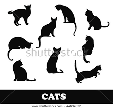 cat silhouette free cat silhouette vector free vector stock