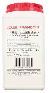 glucose cuisine ou en trouver sirop de glucose déshydraté 1 kg morsweet louis françois additif
