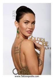 Celebrity Tattoos Best Female 1